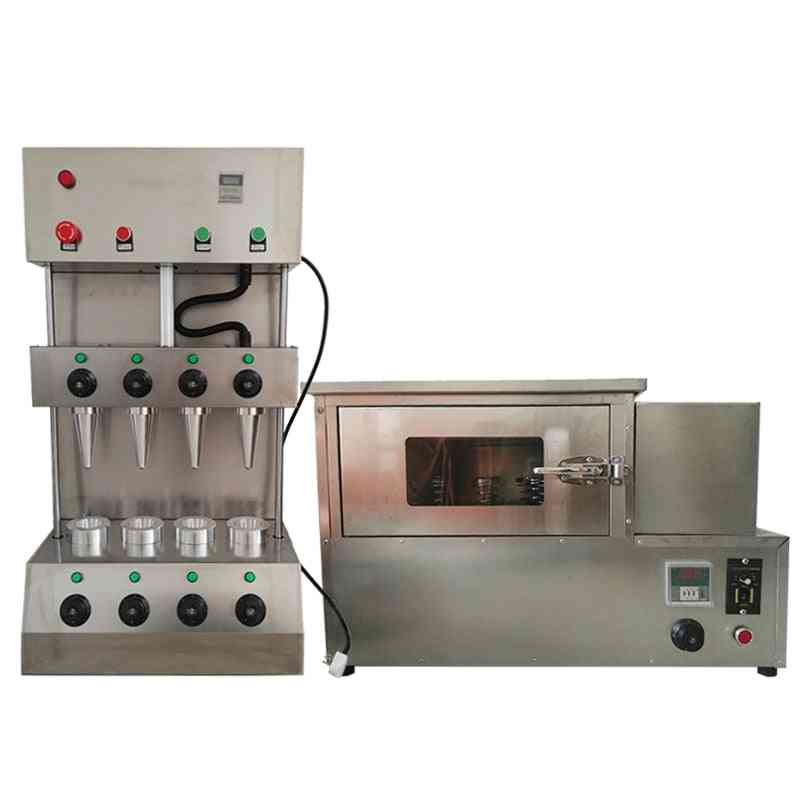 Commercial Automatic Stainless Steel Pizza Cone Machine