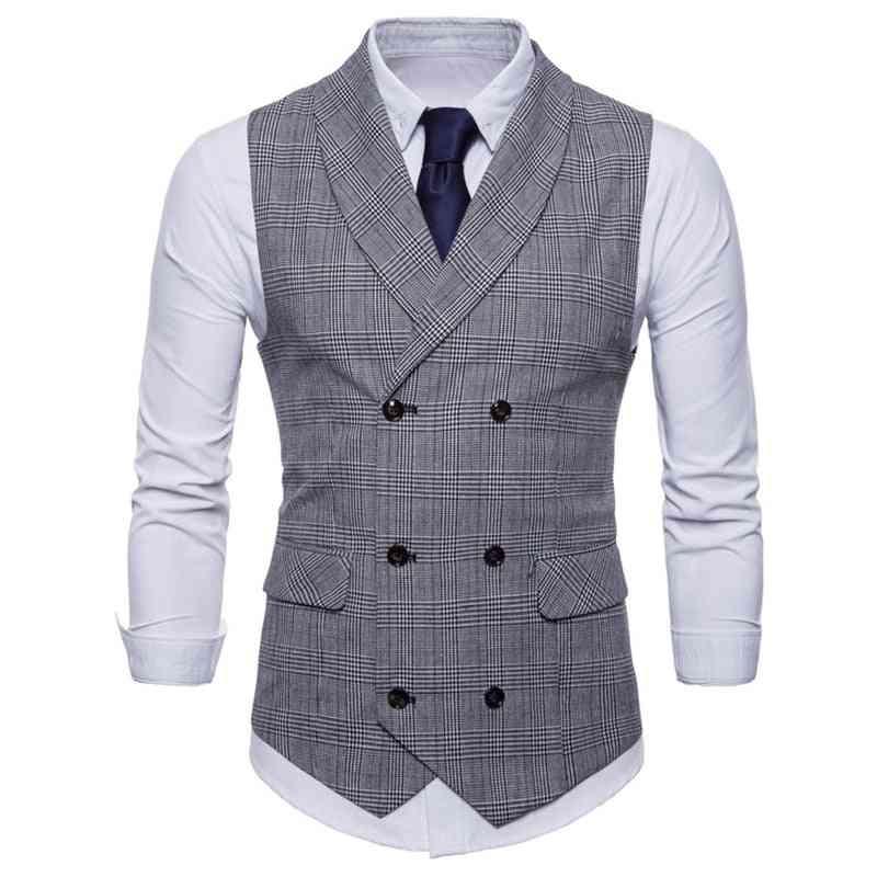 Men's Formal Vest With Pockets