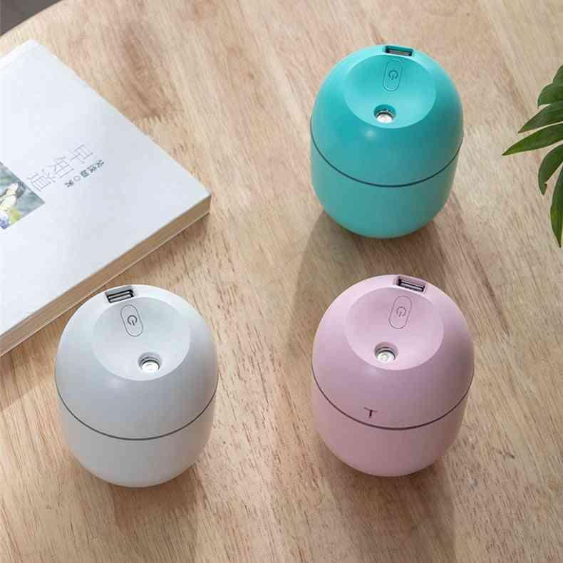 Mini Portable, Ultrasonic Air Humidifier - Aroma Essential Oil, Diffuser