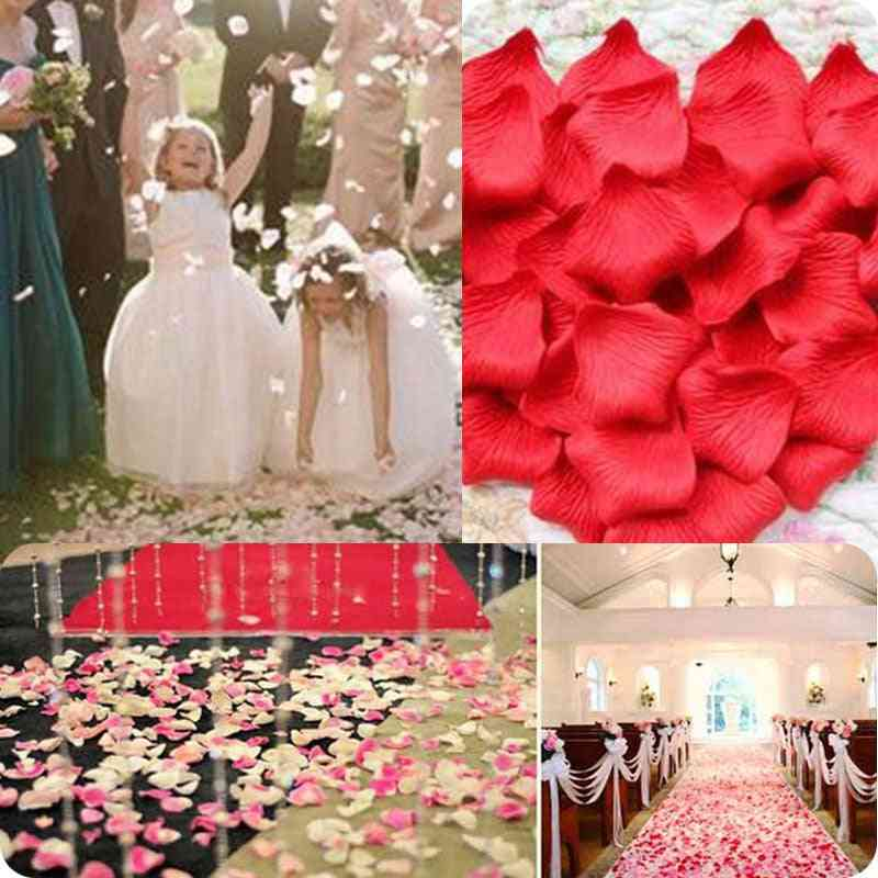 100pcs Artificial Rose Petals For Decoration