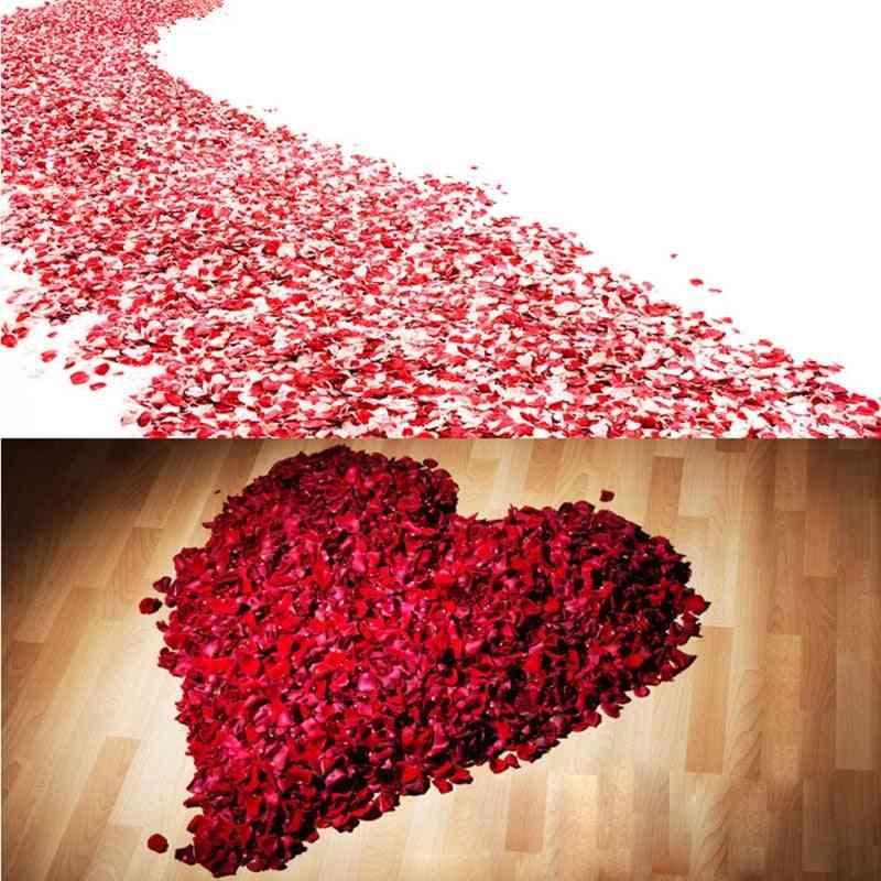 Colorful Artificial, Rose Petals, Wedding Silk Flower Accessories