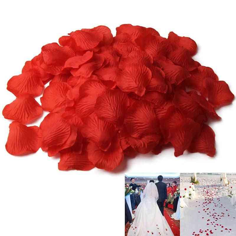 500pcs- Simulation, Silk Rose, Petal Flower- Marriage, Wedding Accessories