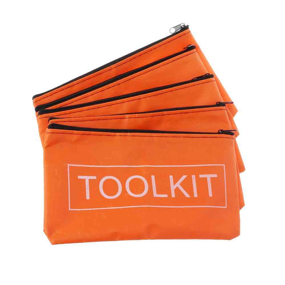 Zipper Storage- Waterproof Oxford Cloth, Hardware Toolkits Bags