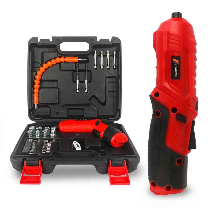 4.2v- Electric Rechargeable, Cordless Power Drill, Screw Driver Kit