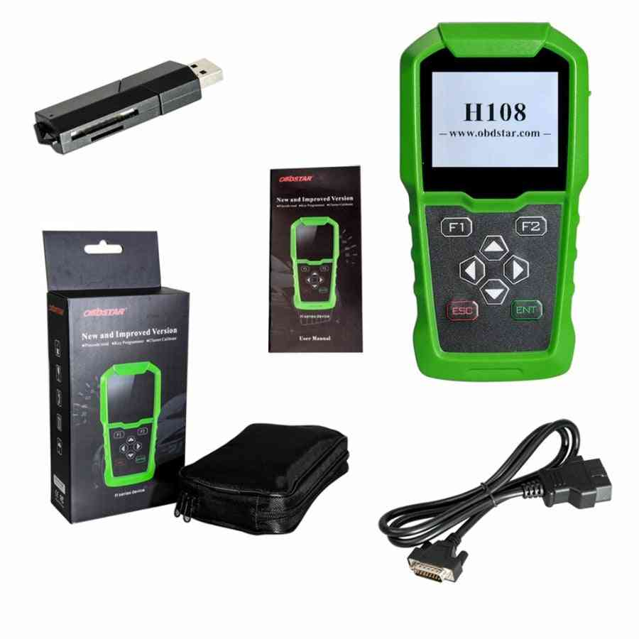 All Key Lost Programming/pin Code Reading/cluster Calibrate For Peugeot/citroen/ds With Can &k-line
