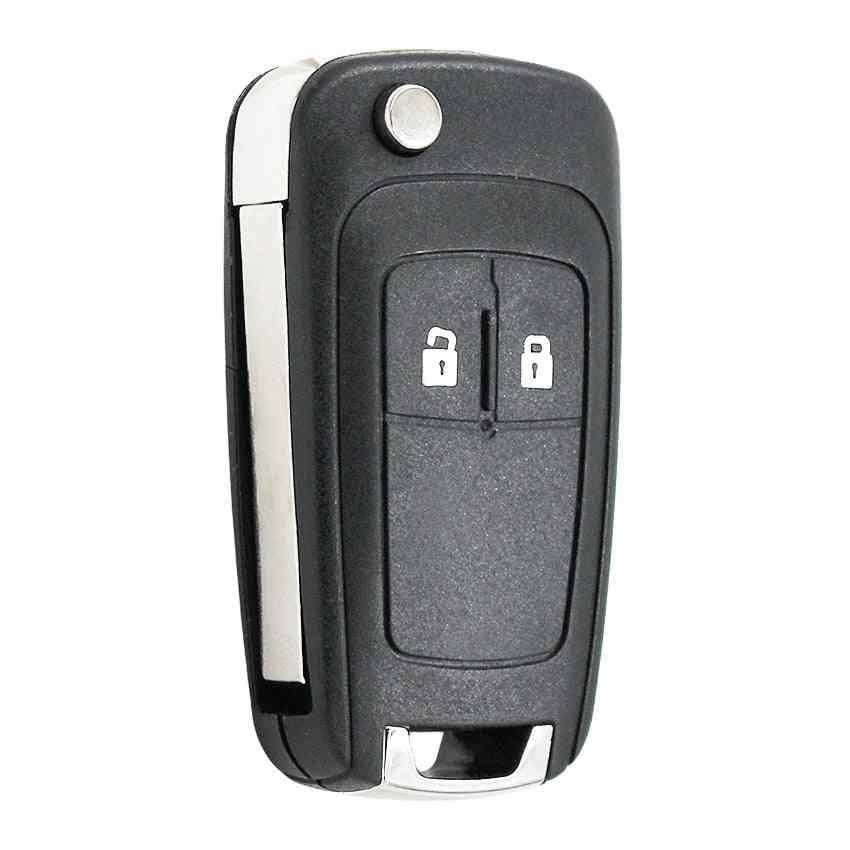2 Button Flip Remote Key Shell Case
