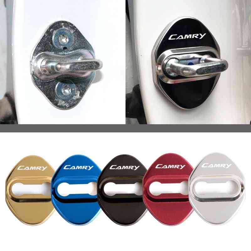 Car Styling Lock Covers For Toyota Camry, Protective Sticker