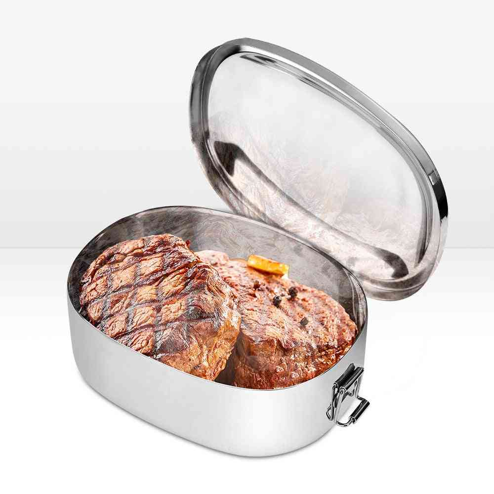 Food Warmer Exhaust Cooker, Stainless Snowmobile Heated Lunch Box