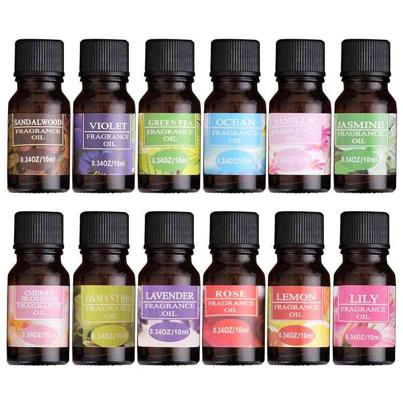 10ml- Essential Oils, Humidifier Diffuser - Fragrance Lamp