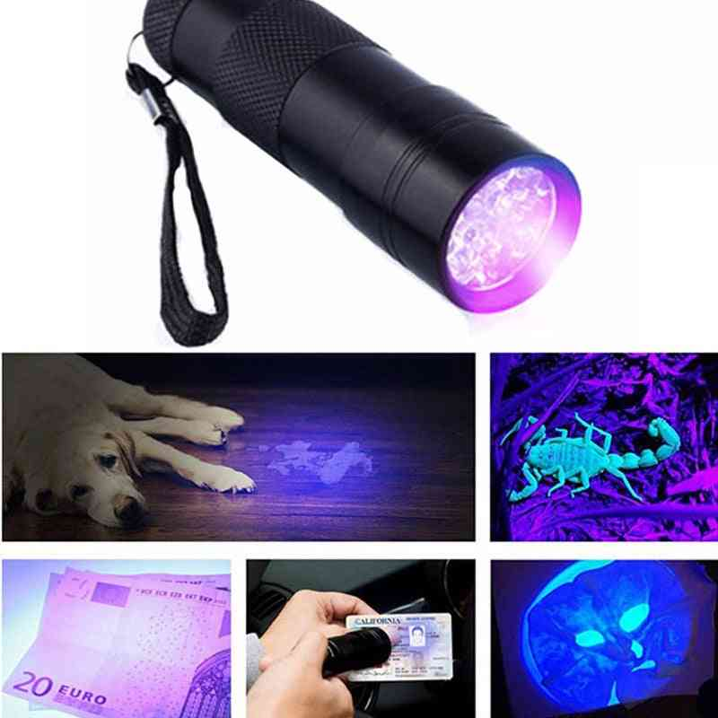 9 Led Ultraviolet Lamp Torch