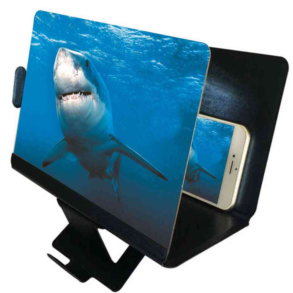 3d Portable Mobile Phone Screen Magnifier For Cell Phone