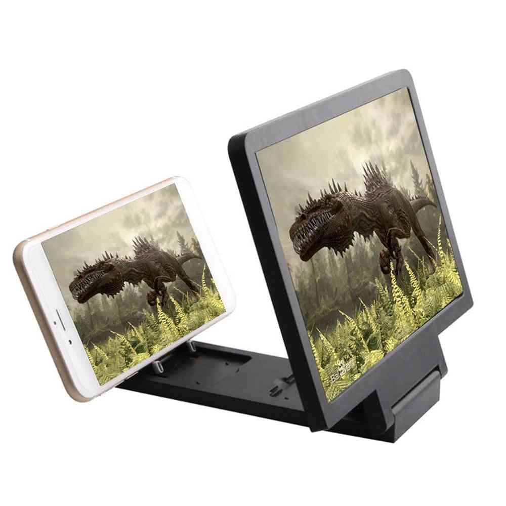 3d Video Hd Phone Screen Amplifier, Mobile Magnifying