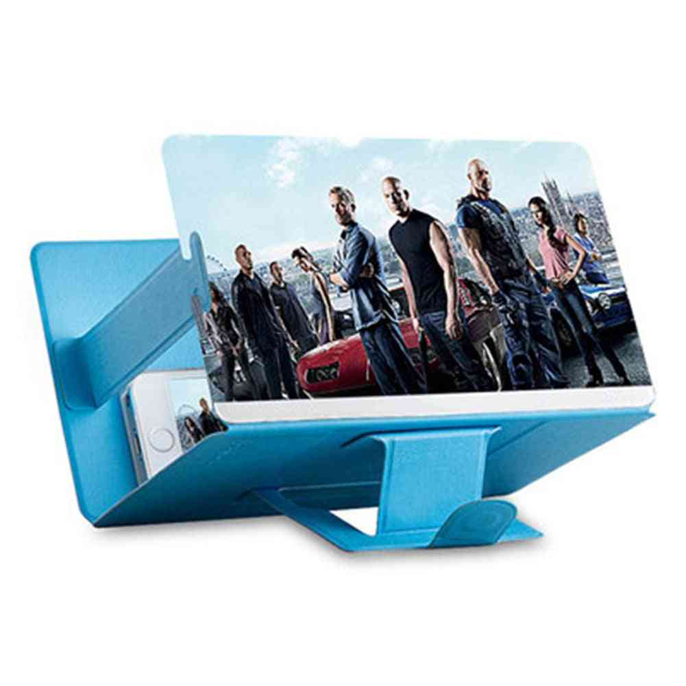 Phone Accessories, Mobile Screen Magnifier Projector For Movies, Videos And Gaming