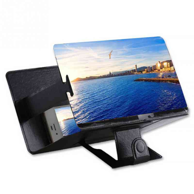 3d Video, Mobile Phone Amplifier, Magnifying Glass Stand