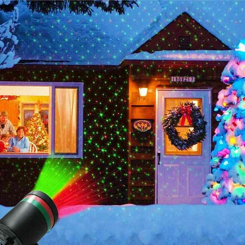 Light Fairy Sky Star Laser Projector, Waterproof Decorative Lamp