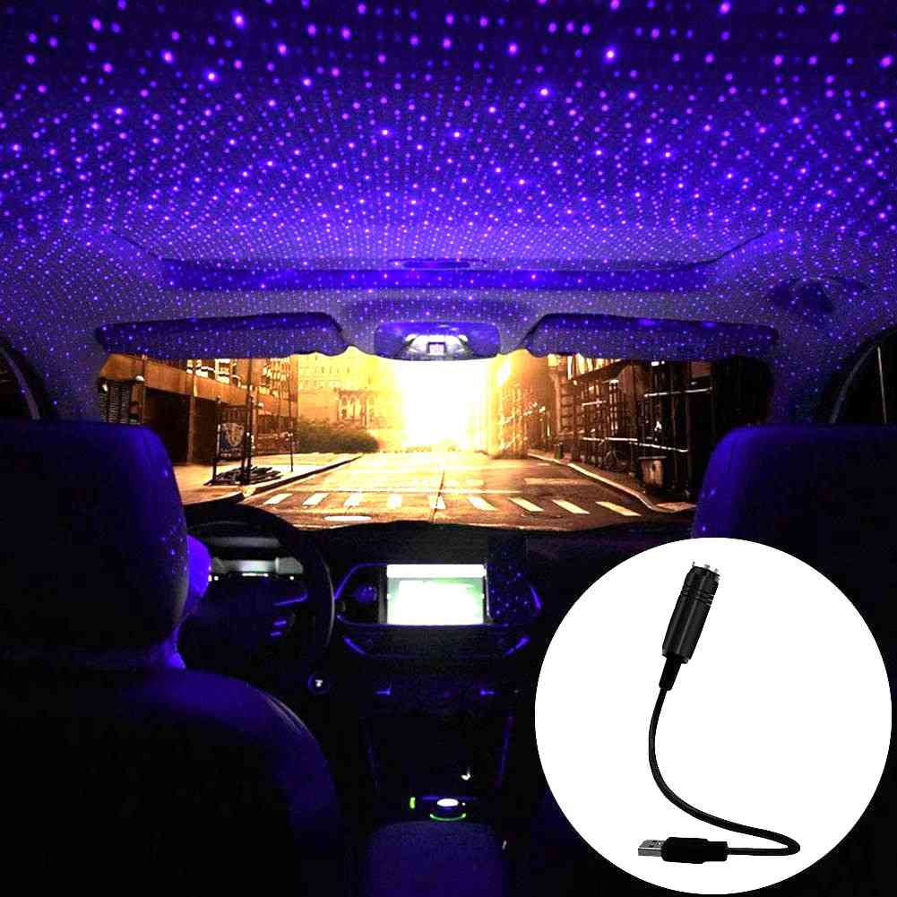 Night Laser Light Projector, Atmosphere Usb Lamp For Stage Effects