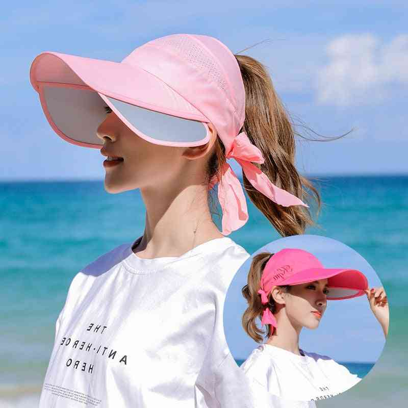 Summer Scalable, Uv Protection Visor Hats