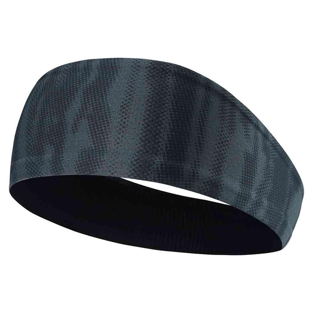 Elastic Men Headband / Hairband, Soft Sweatband Stretchy Headwear