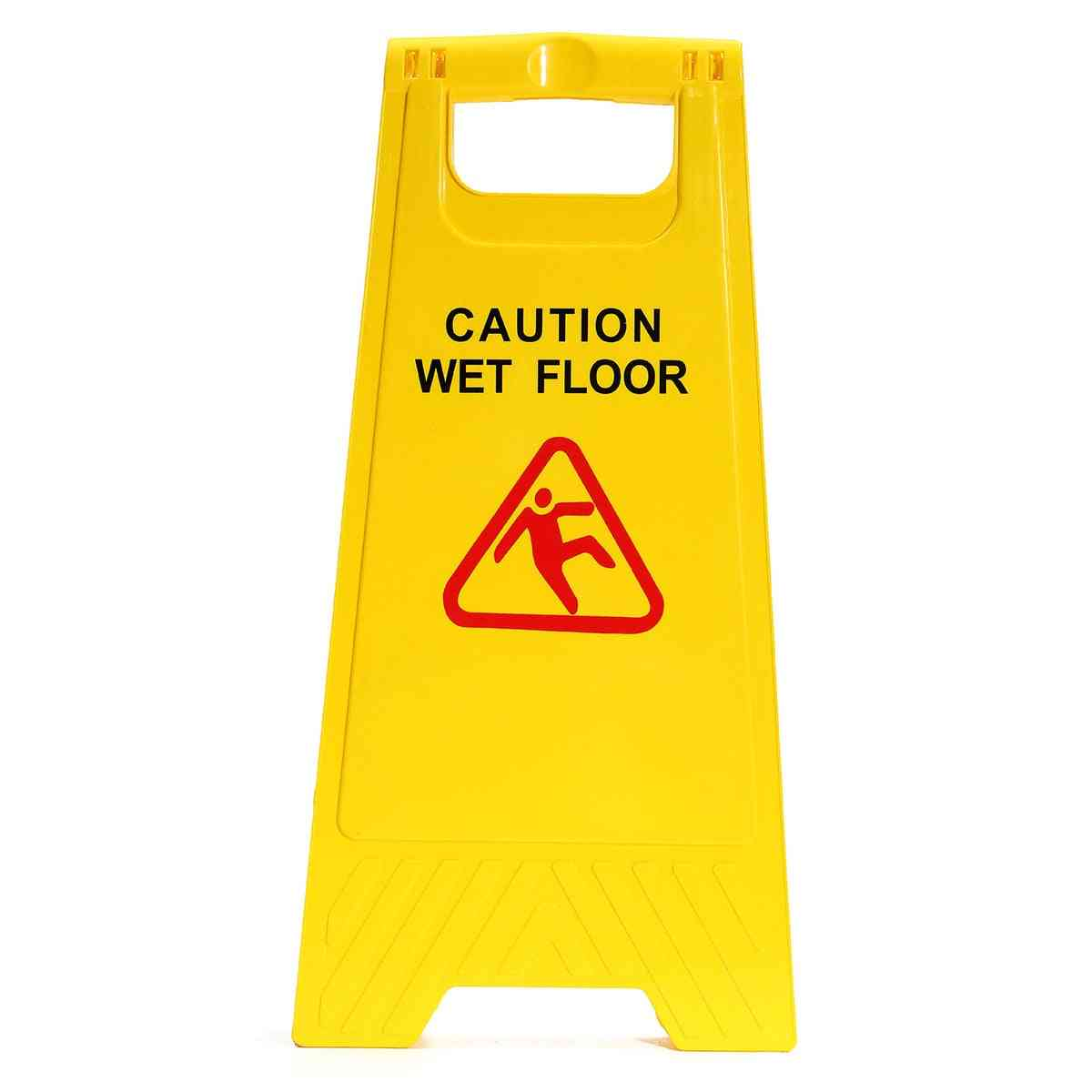 A-type, Yellow Caution- Wet Floor, Warning Sign Tool