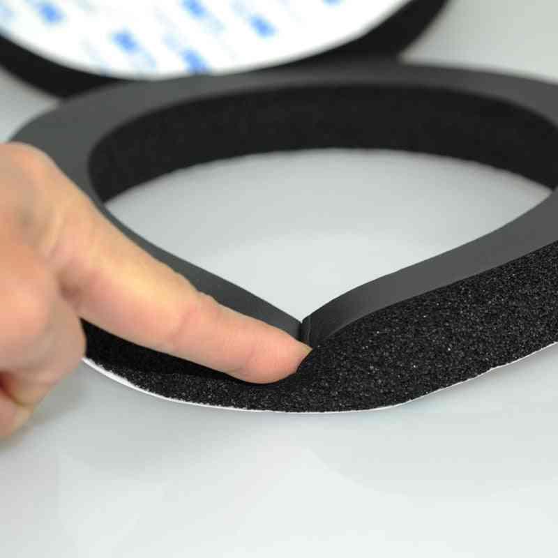 Car Speaker Ring Bass Door Trim Sound Insulation Cotton Audio Speakers