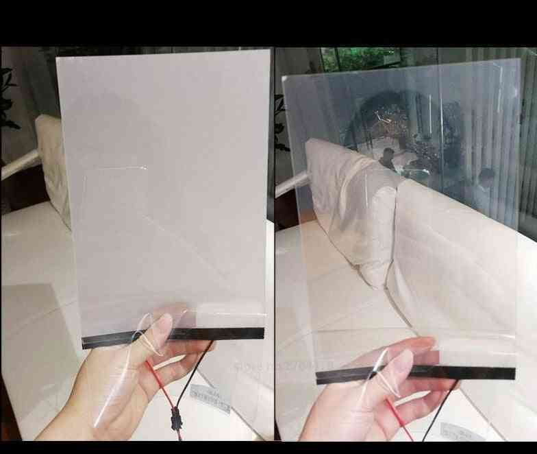 Window Glasses- Pdlc Magic Switchable, Transparent Color Film