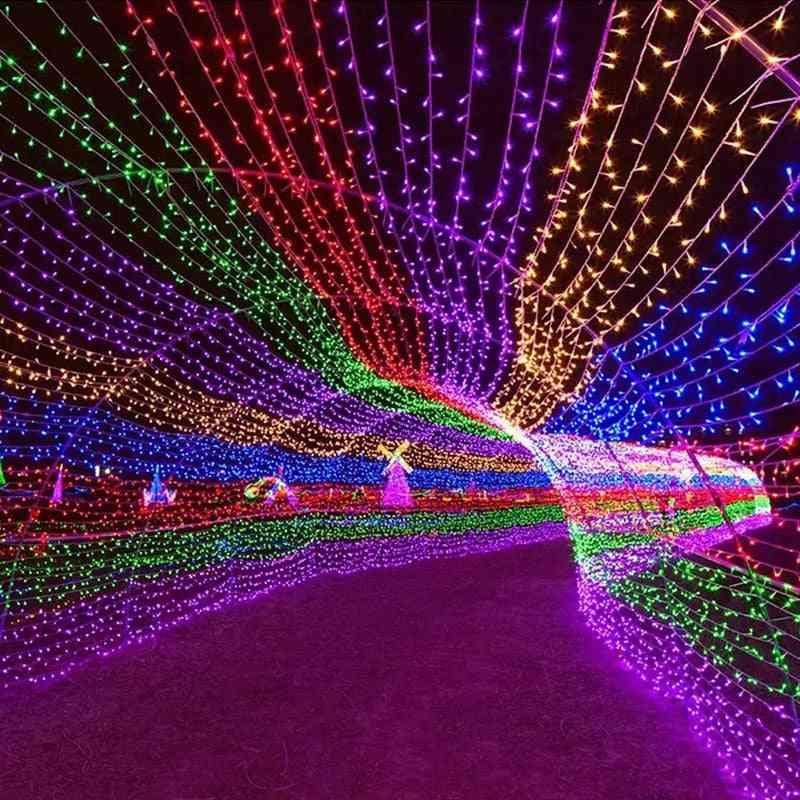 Led Garland Fairy String Lights, 8-modes Luminous