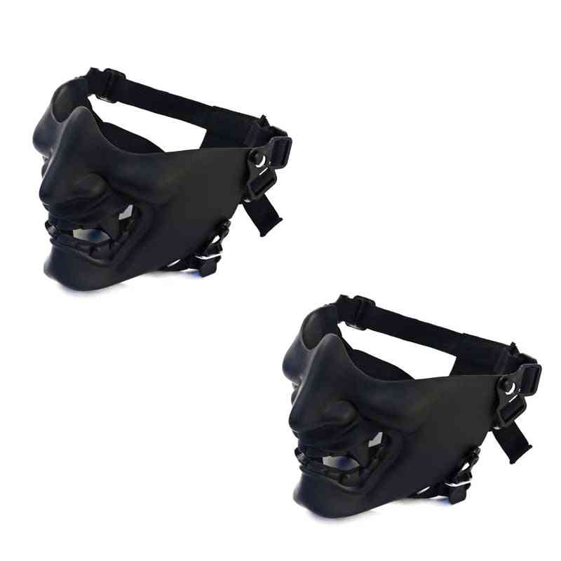 3d Thick Harajuku Streetwear Hiphop Cool Face Mouth Mask