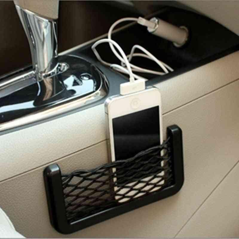 Car Net Bag Phone Holder