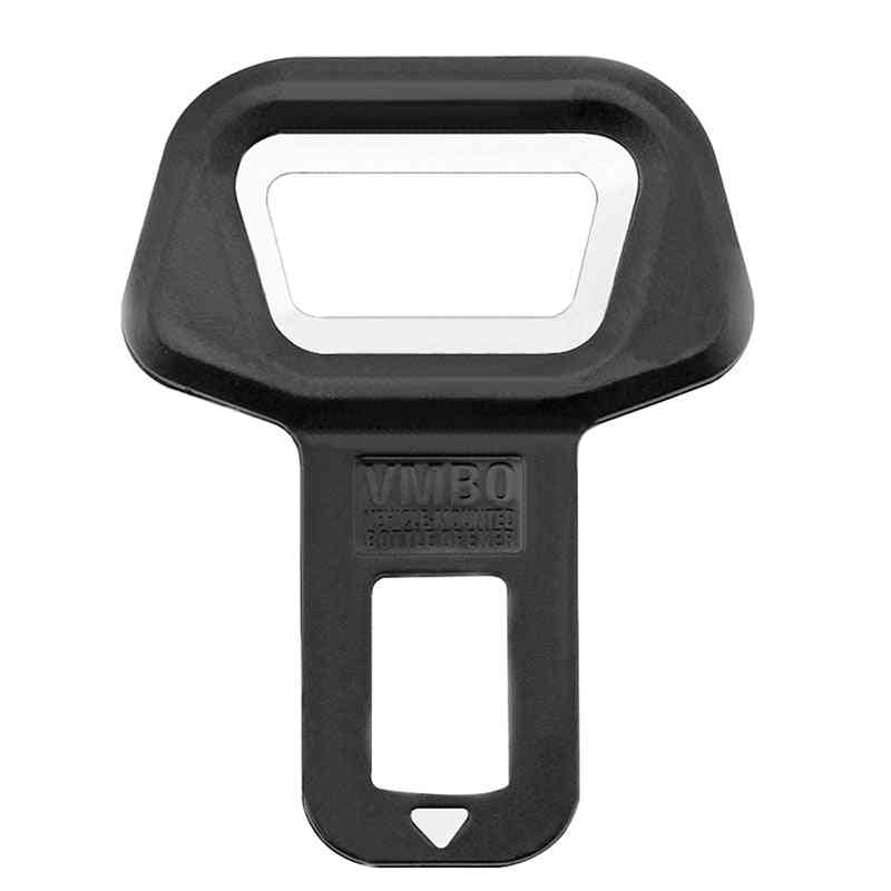 Universal Car Safety Belt Clip, Vehicle-mounted Bottle Opener