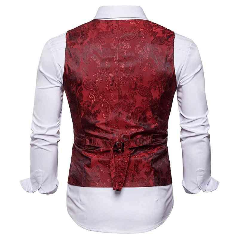 Casual Suit Vest, Outwear Single Breasted, Waistcoat