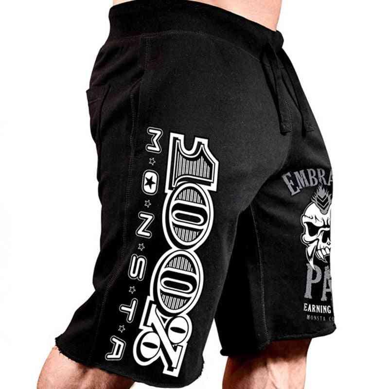 Cotton Loose Short Trousers, Fitness Sweatpants, Workout Shorts's