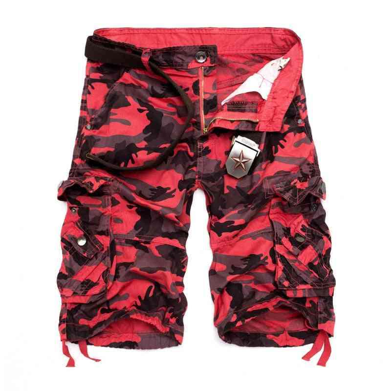 Summer-camouflage Loose Cargo, Military Pants, Shorts