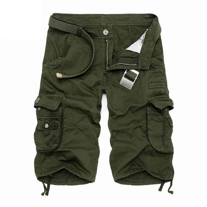 Summer- Cotton Cargo, Military Camouflage, Jogger Shorts's