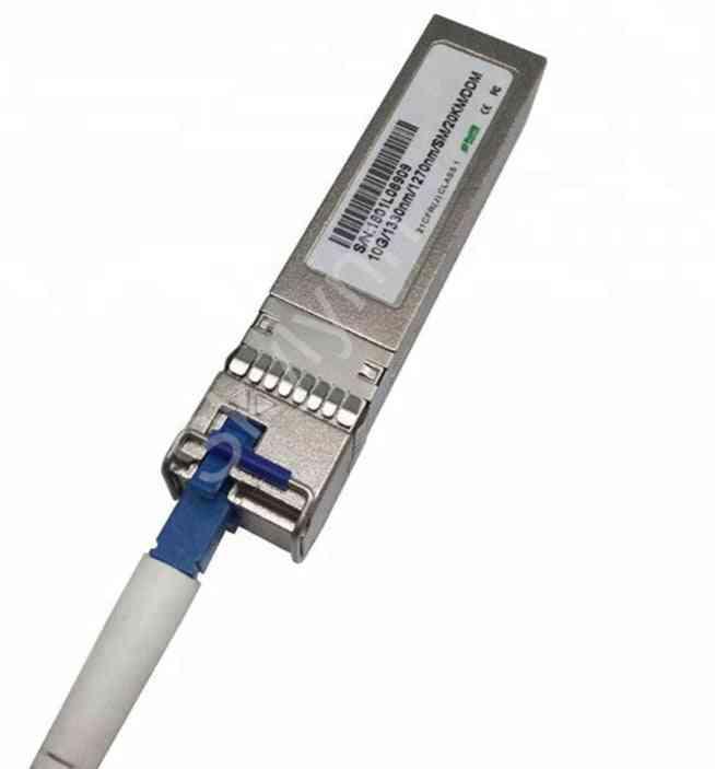 Sfp Transceiver Module, Sfp Wdm 10gbps Sm Lc 10km Tx1270/rx1330 Tx1330/rx1270 Ddm Function