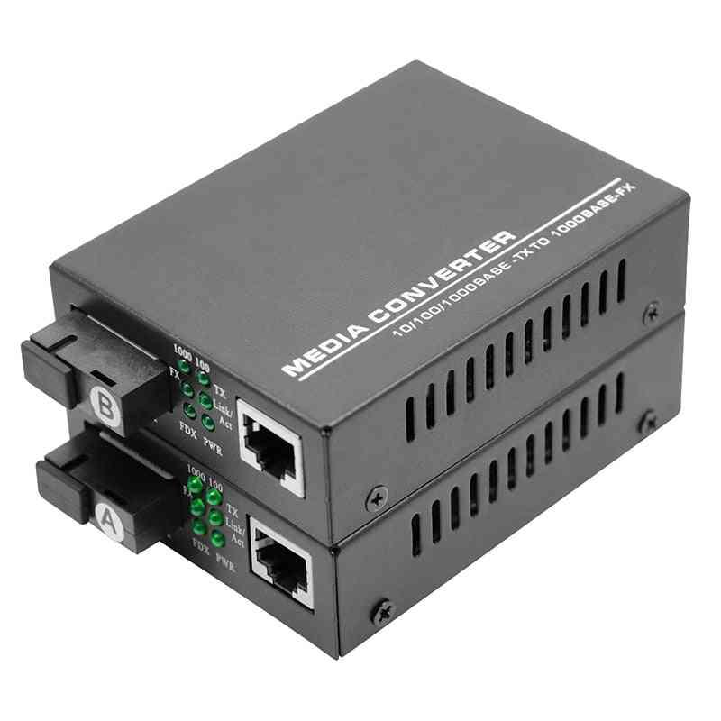Gigabit Ethernet Fiber Media Converters