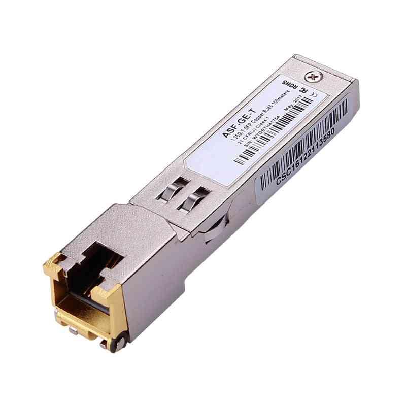 Sfp Copper Transceiver Module Gigabit Tx Port
