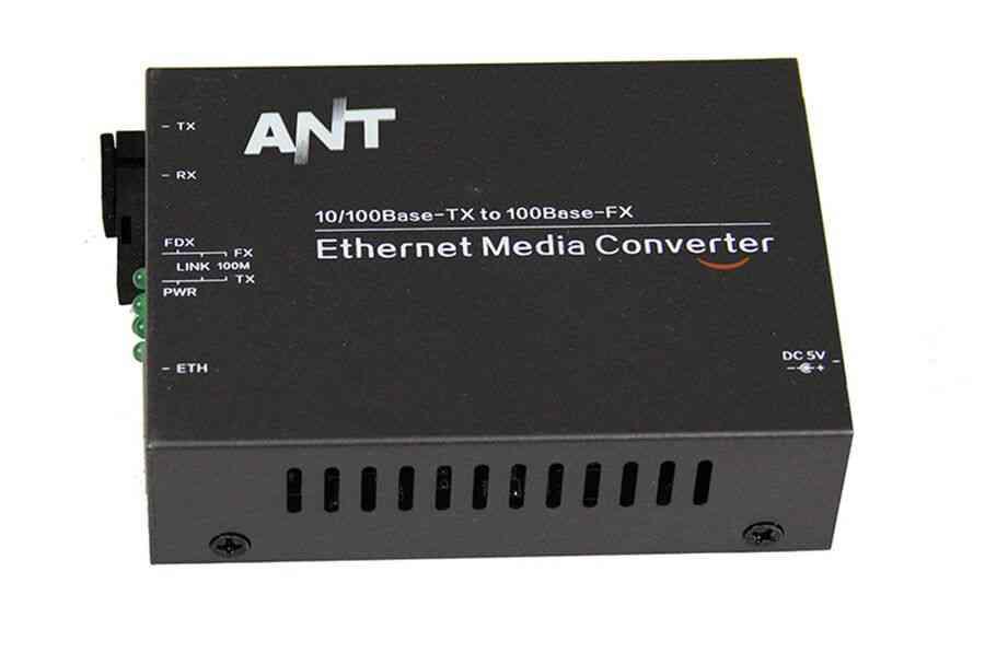 Media Converter Fiber Optical Transceiver
