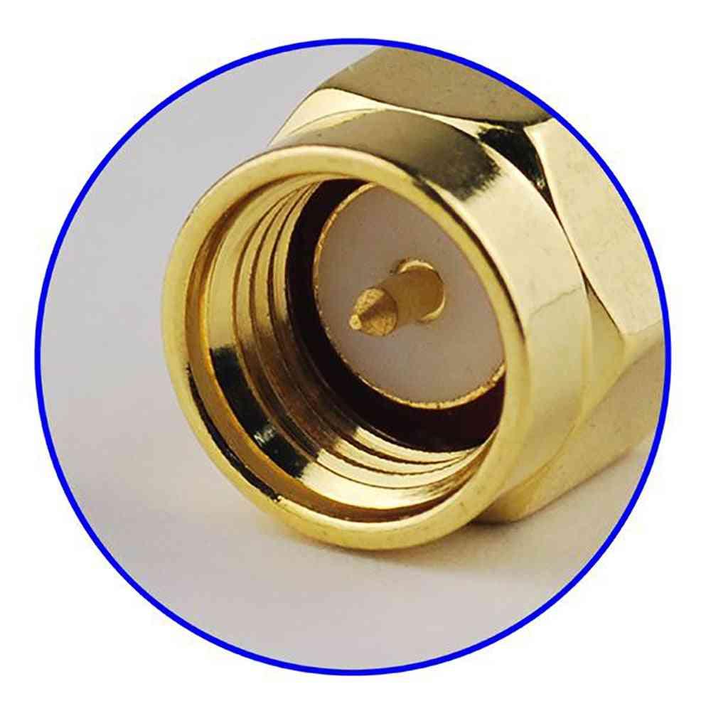 Superbat Sma Crimp Plug Rf Coaxial Connector For Cable