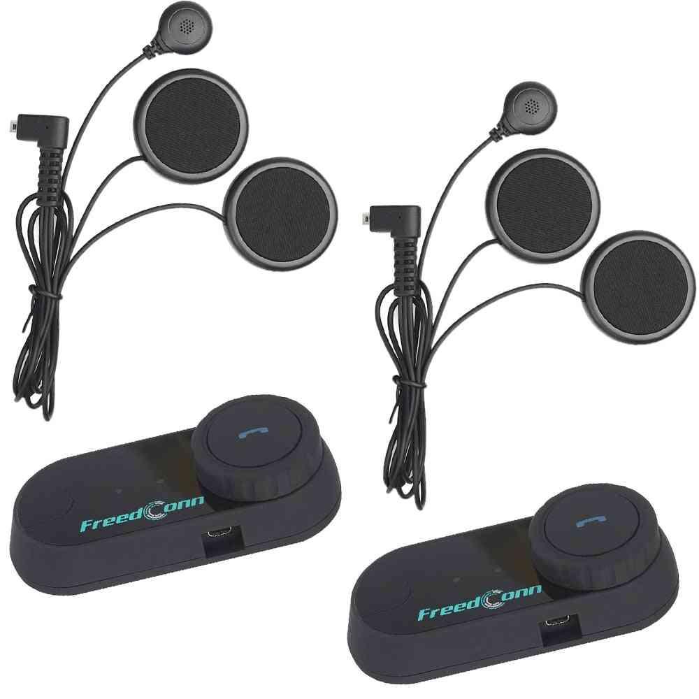Motorcycle Intercom Bluetooth Helmet Headset, Interphone