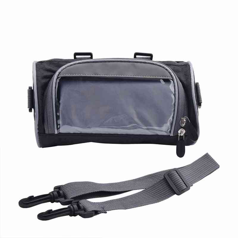 Windshield/motorcycle Front Handlebar Fork Storage Bag/container