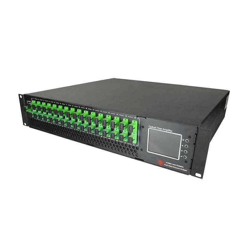 High Power Optical Amplifier-16 Way Ftth Sc/apc -upc Catv Edfa Network