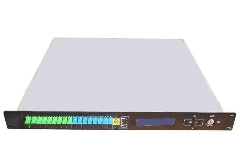 8 Port Optical Fiber Amplifier-equipment For Ftth Network/catv/tel/internet