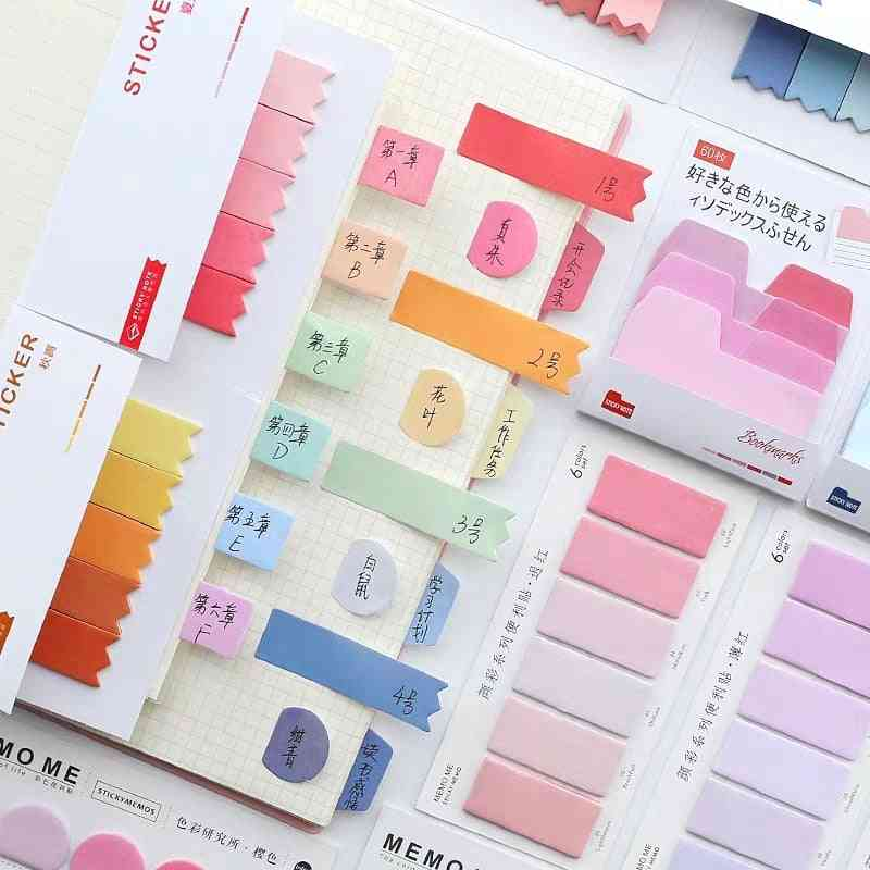 Gradient N Times Sticky Index Note Post Sticker
