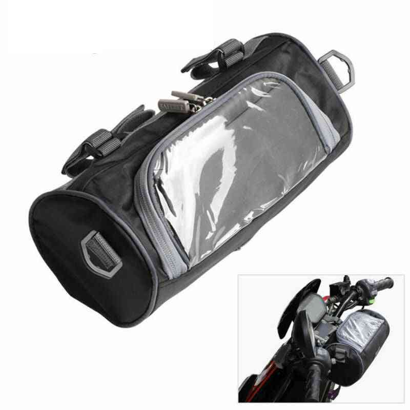 Portable Windshield Bag, Motorcycle Front Handlebar Fork Storage Bags / Container