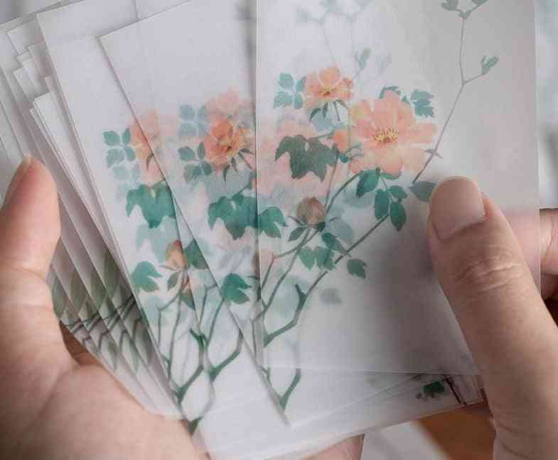 Creative Chinoiseries, Artsy Leaves, Writing Note, Plants Flowers, Memo Pads