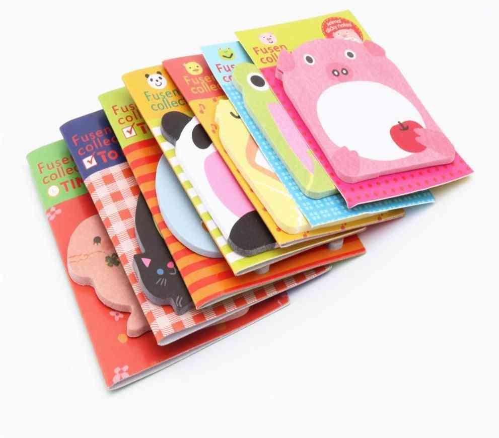 Charming Animal Series- Memo Pad, Sticky Notes