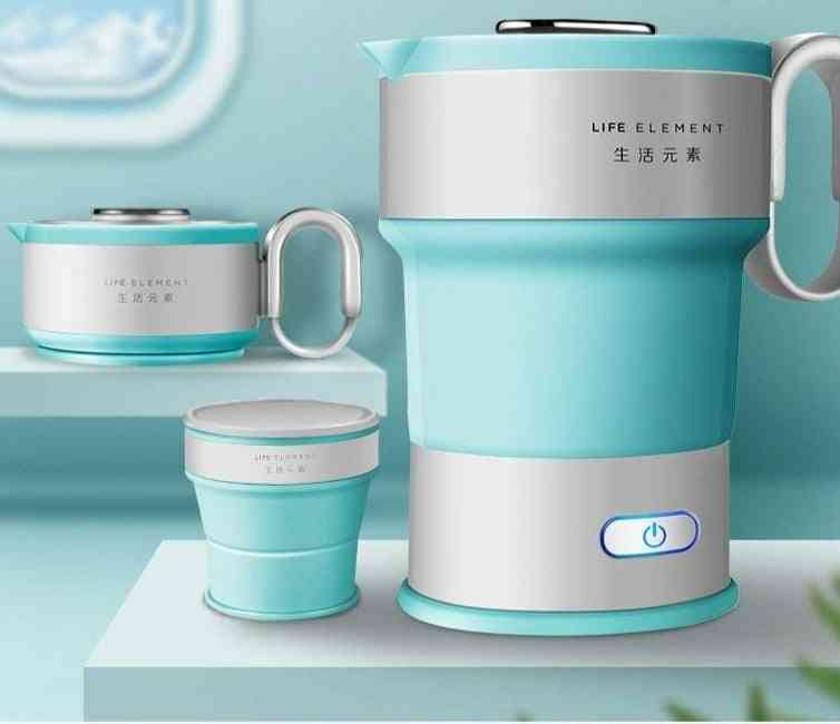 Mini Electric, Folding Kettle, Chassis Heating, Automatic Power-off