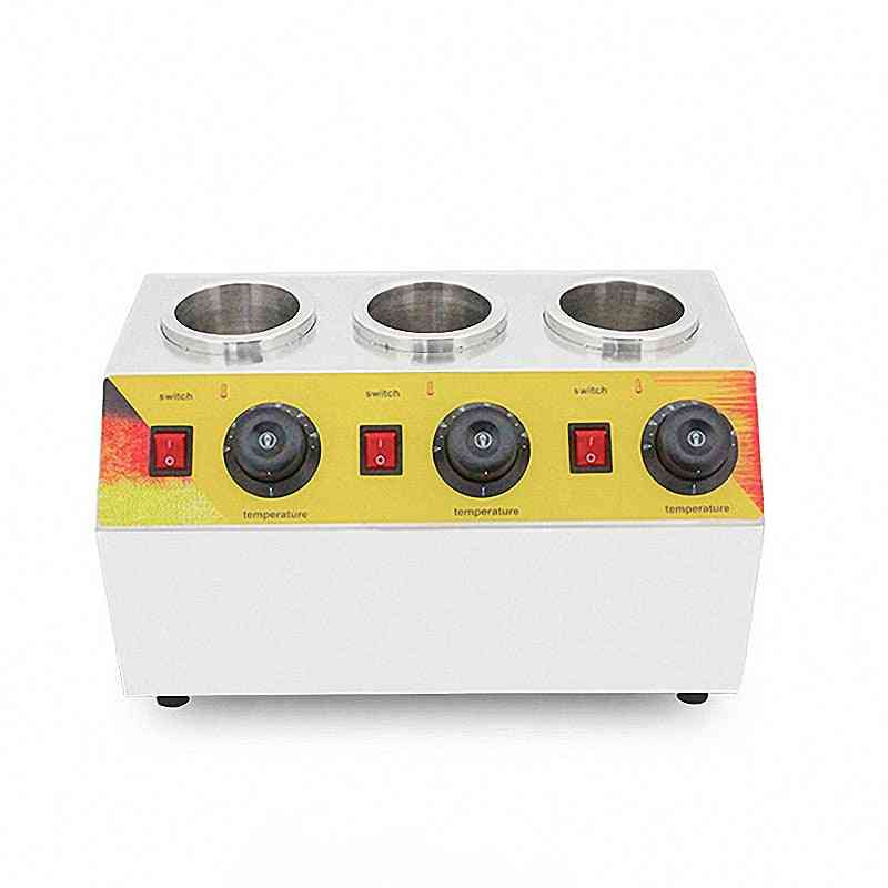 Cheese Chocolate Jam 3 Bottles Warming Machine