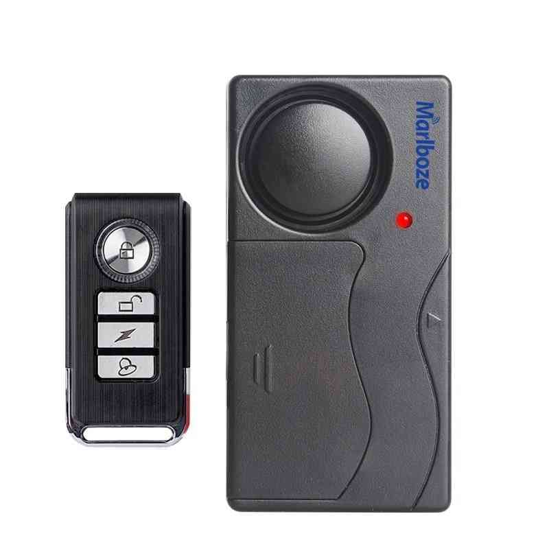 Remote Control Bicycle Electromobile Security Vibration Warning Alarm System