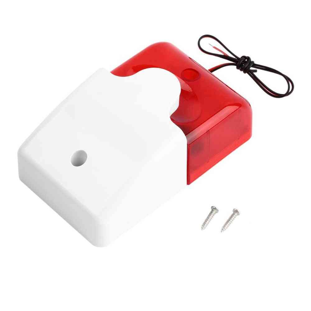 Flashing Light, Wired Sound Siren For 99-zones, Pstn/gsm Wireless, Home Security Alarm